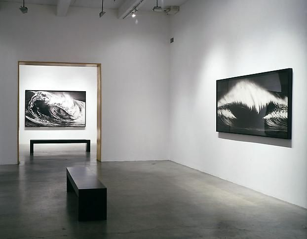 """Monsters,"" installation view, 2002. Metro Pictures, New York."