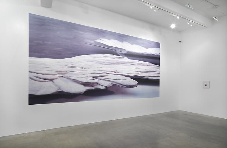 """Fitting at Metro Pictures,"" installation view, 2011. Metro Pictures, New York."