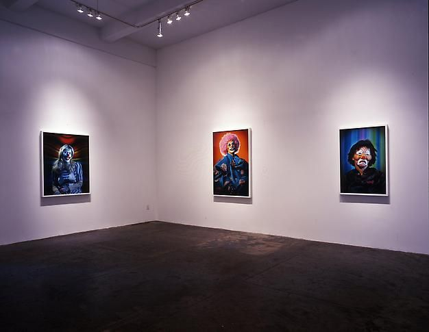 Installation view, 2004. Metro Pictures, New York.