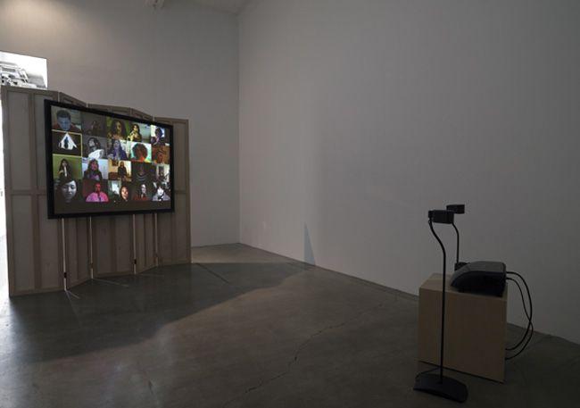 T. J. Wilcox, 2010, installation view. Metro Pictures, New York