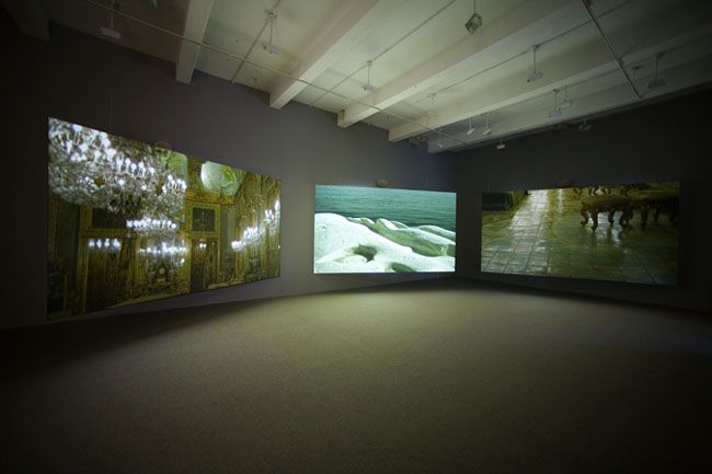 Isaac Julien, WESTERN UNION: Small Boats, 2007. Metro Pictures, New York.