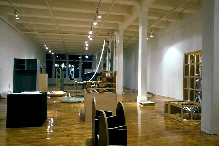 Installation view, 1987. Metro Pictures, New York.