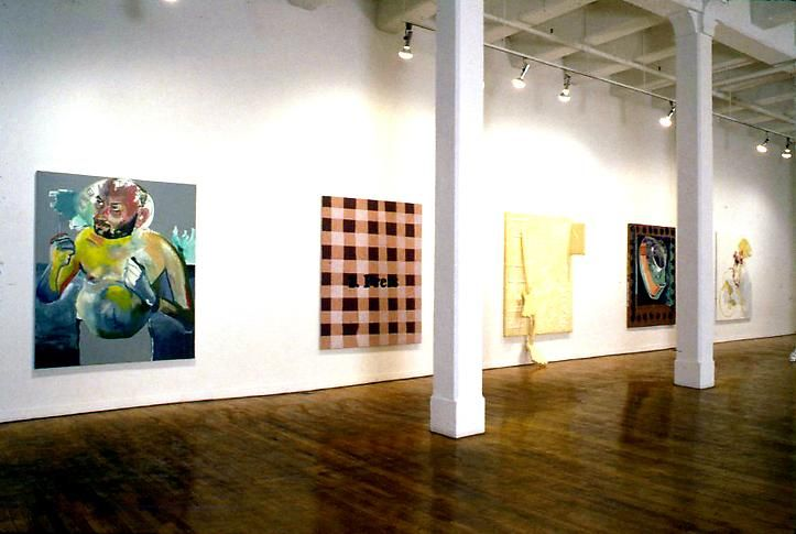 """""""Pictures of an Exhibition, Part 2,"""" installation view, 1994. Metro Pictures, New York."""