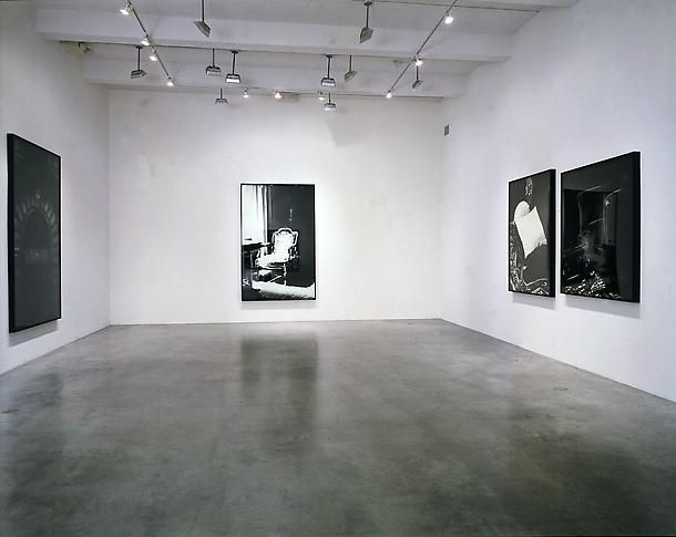 """""""The Freud Drawings,"""" installation view, 2001. Metro Pictures, New York."""