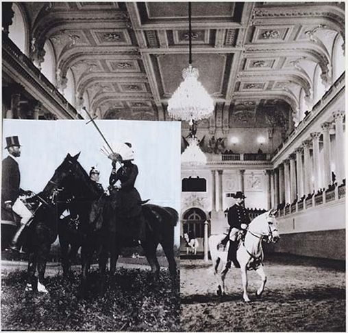 Tragedy (Sissi at the Great Gallery IV), 2007. Archival inkjet print on watercolor paper