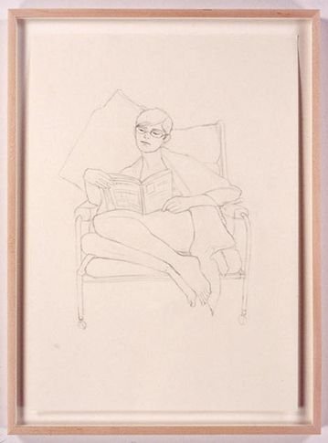 Magda, 2005. Pencil drawing on paper, 23.4 x 16.5 inches (59.4 x 41.9 cm). MP D-1