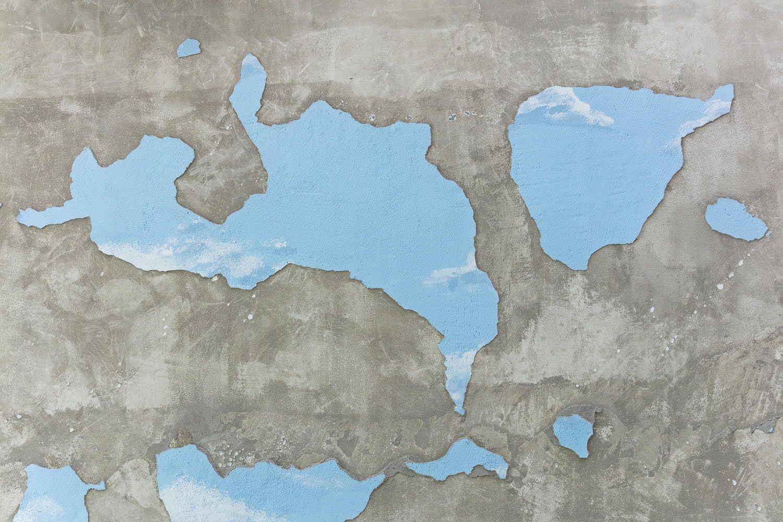 Latifa Echakhch's Cross Fade detail