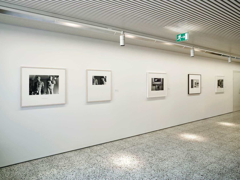 She's Here. Installation view, 2018. Sammlung Verbund, Vienna. Photo: Gregor Titze.