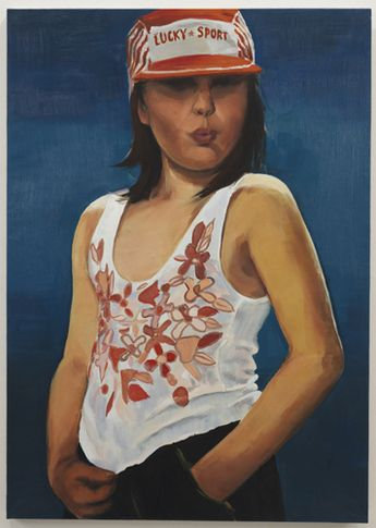 Lucky Sport, 2010. Oil on canvas, 43.31 x 30.71 inches (110 x 78 cm). MP 70