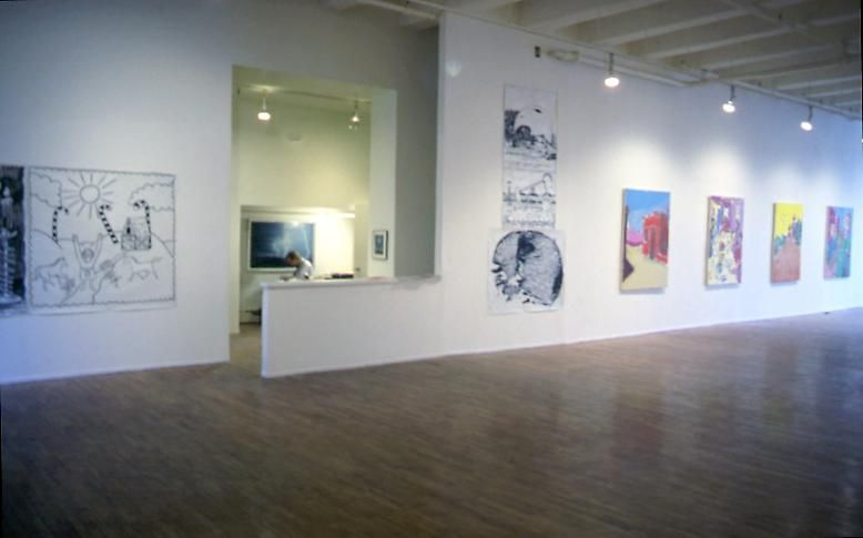 Installation view, 1985. Metro Pictures, New York.