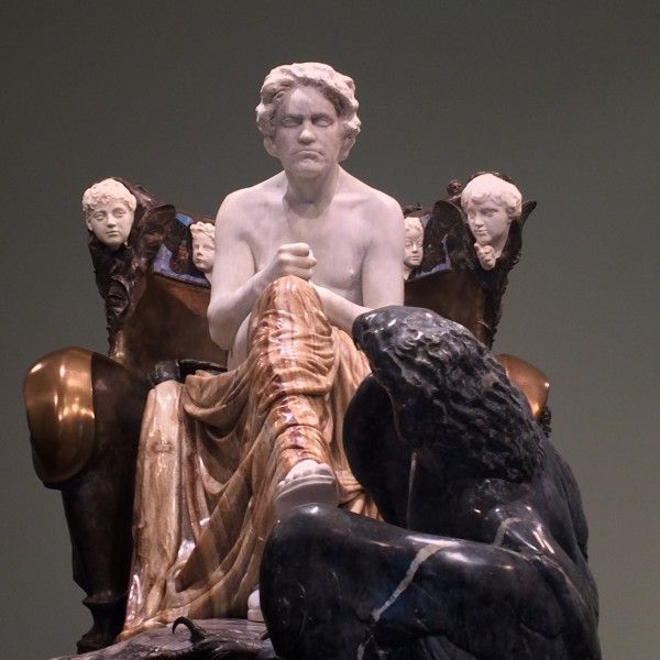 Max Klinger's 1902 Beethoven sculpture at the Museum of Fine Arts Leipzig.