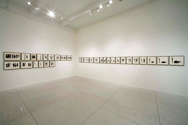 """A Play of Selves,"" installation view, 2006. Metro Pictures, New York."