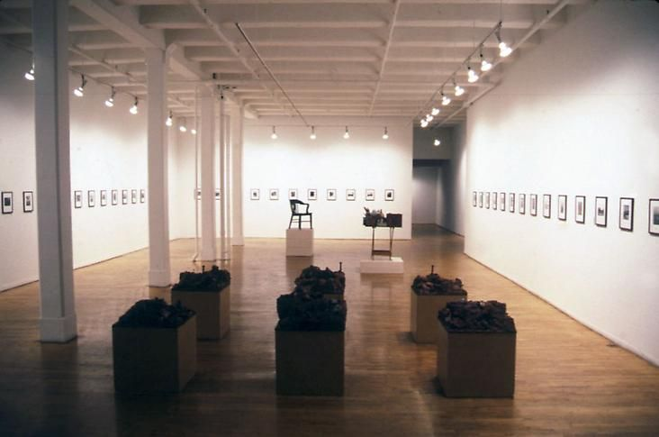 """The Middle of the Day,"" installation view, 1995. Metro Pictures, New York."
