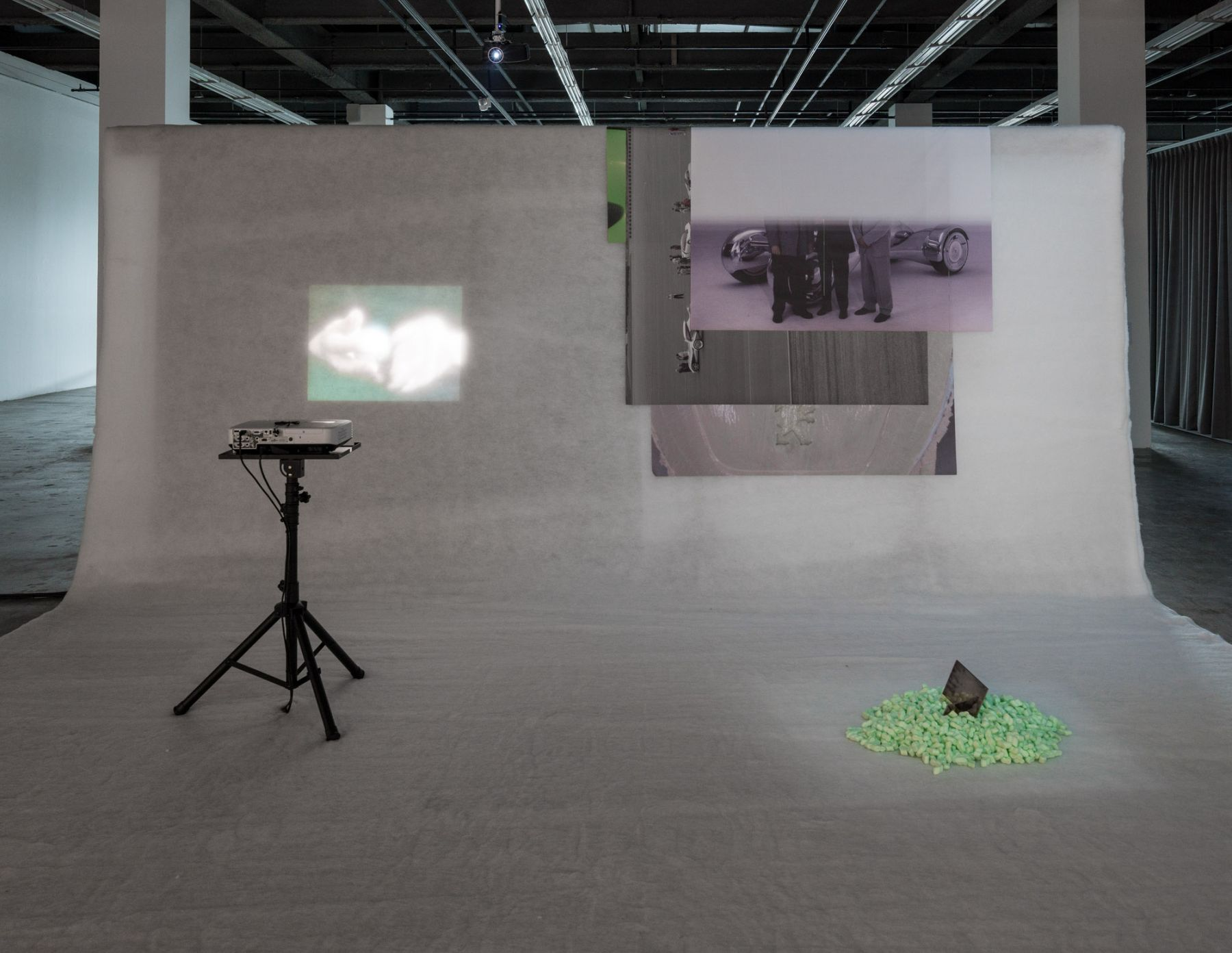 The Eighth Climate (What Does Art Do?). Installation view, 2016. 11th Gwangju Biennale, South Korea.