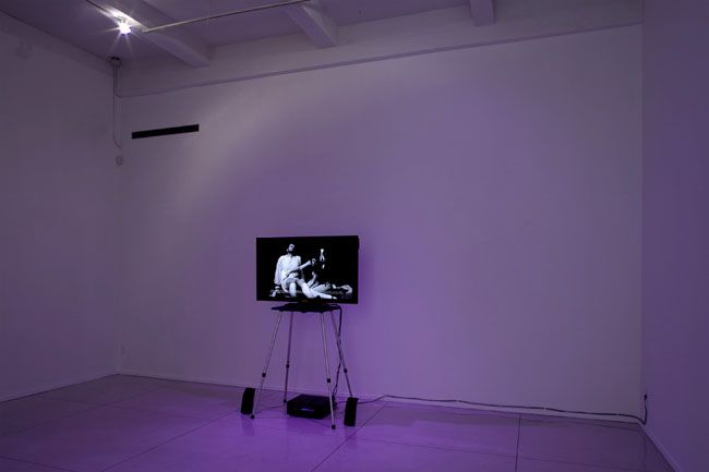 Catherine Sullivan, LULU - Or: To What End Does the Bourgeoisie Need Despair, 2008. Single channel, 16 millimeter and discontinued Super8 millimeter film transferred to digital media color and black and white with sound, 27 minutes 51 seconds. MP F-24
