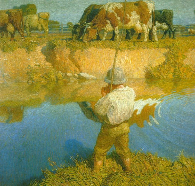 N C WYETH SEPTEMBER AFTERNOON