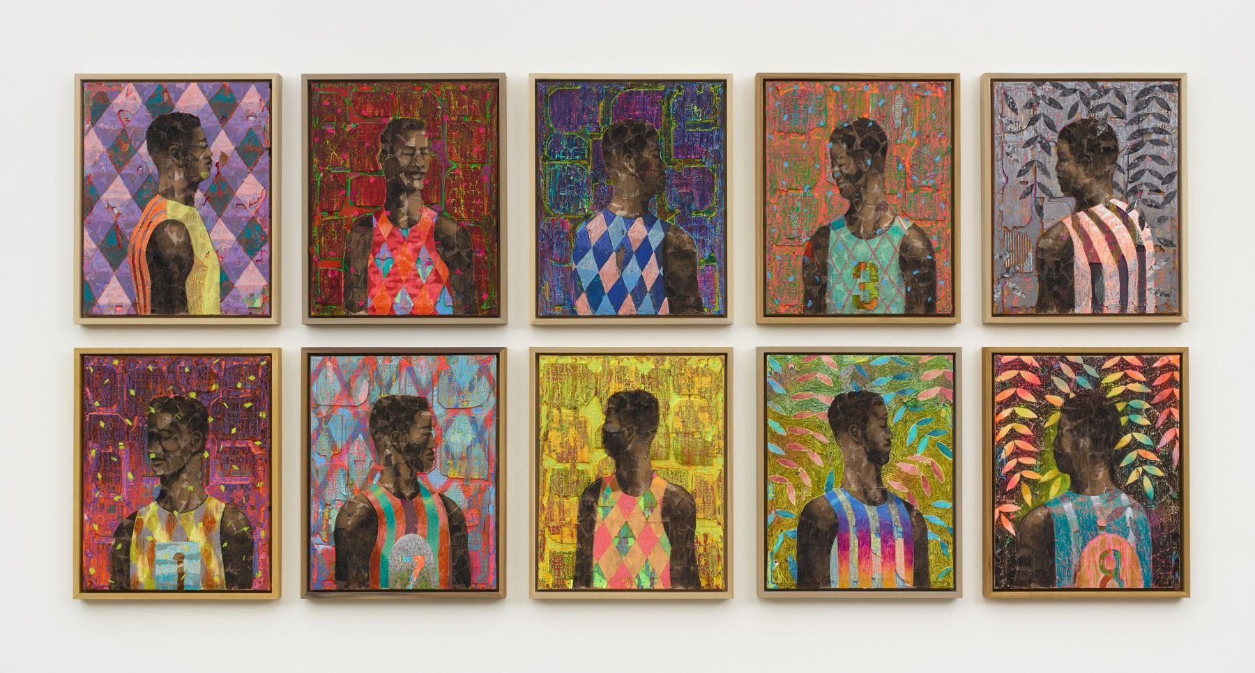 Derek Fordjour - Artists - Night Gallery