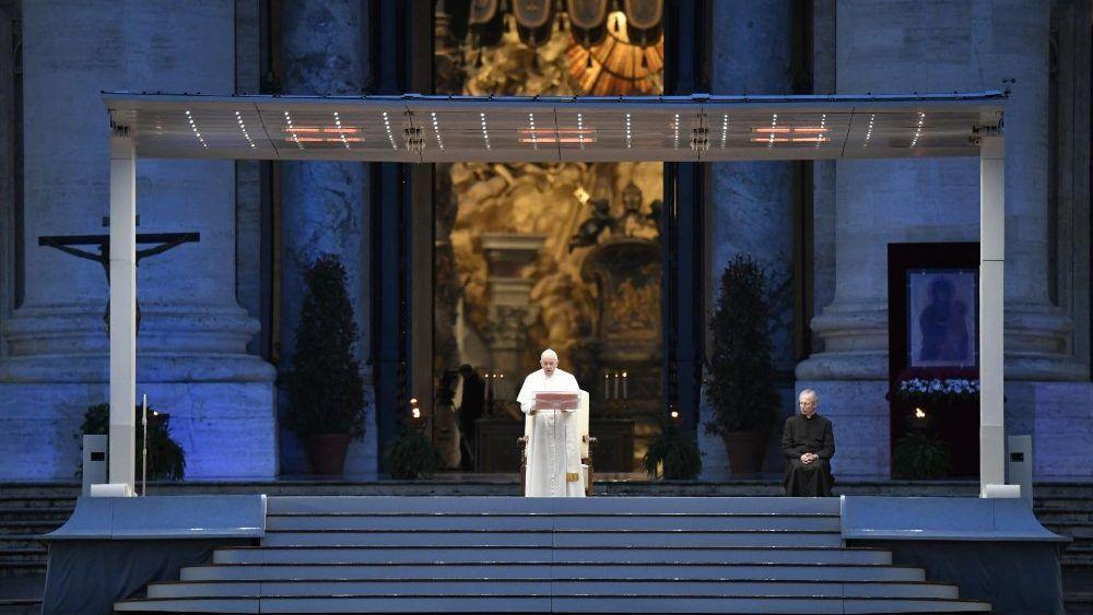 Part 2 - Pope Francis Mar 27 Blessing Covid-19 Urbi et Orbi