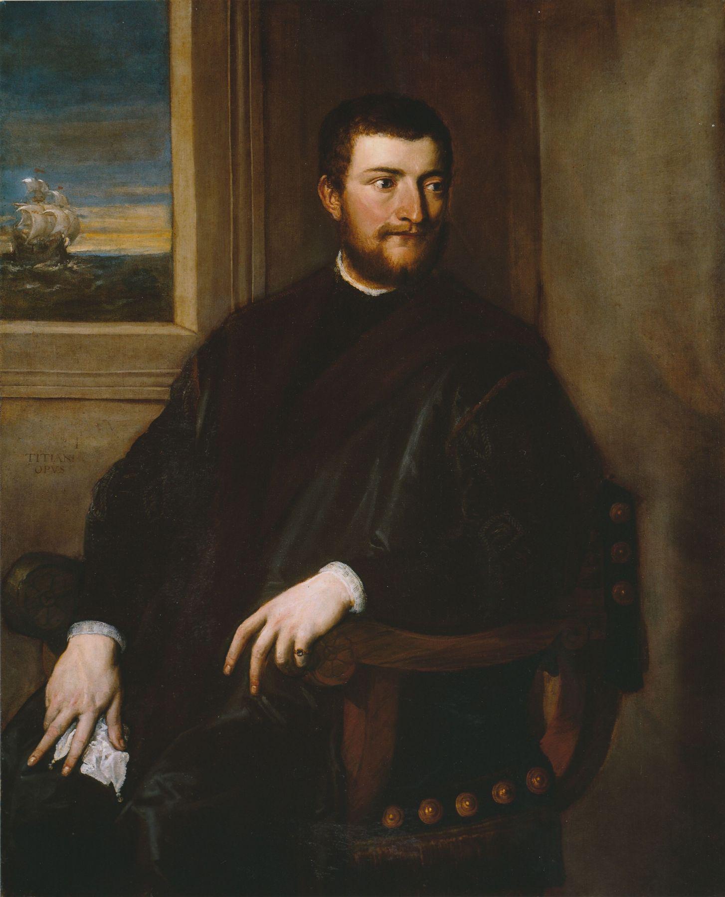 Tiziano Vecelli, called Titian Portrait of a Merchant Private