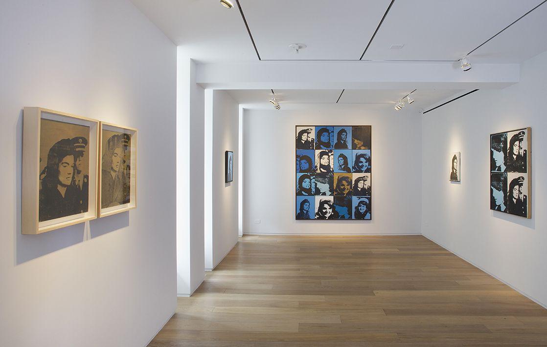 Warhol: Jackie, Installation View