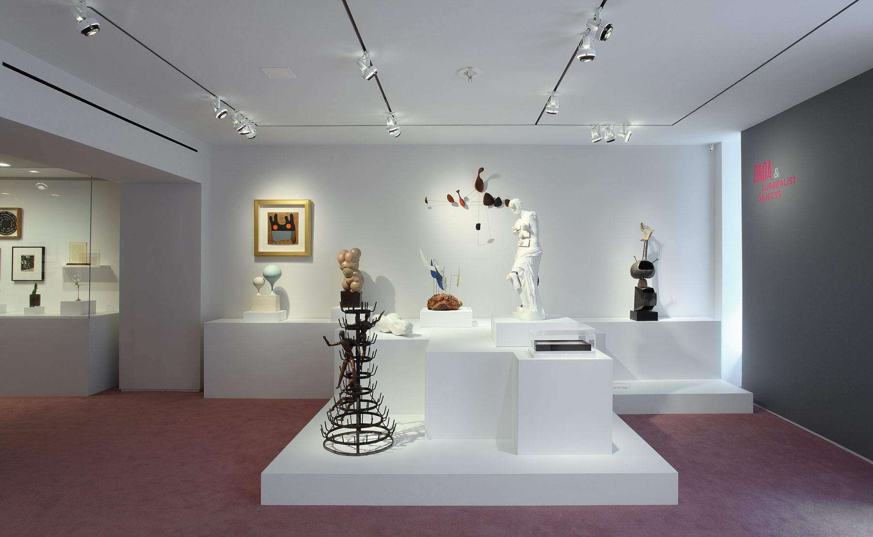 Dada & Surrealist Objects, Installation View