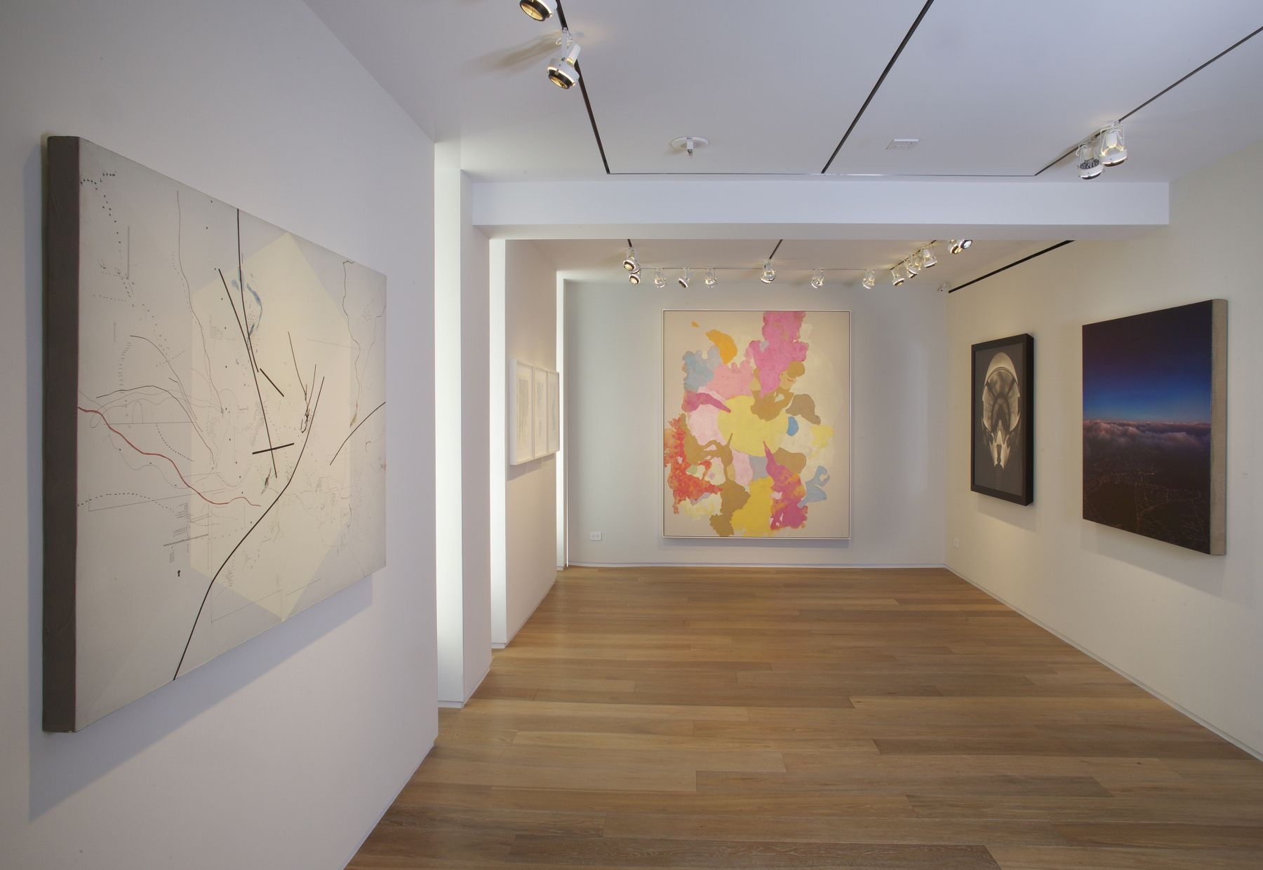From Above, Installation View