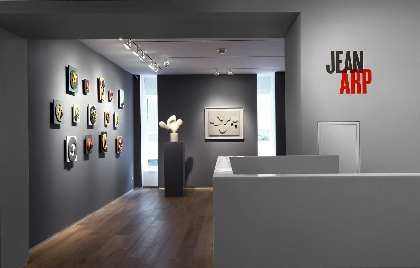 Jean Arp, Installation View
