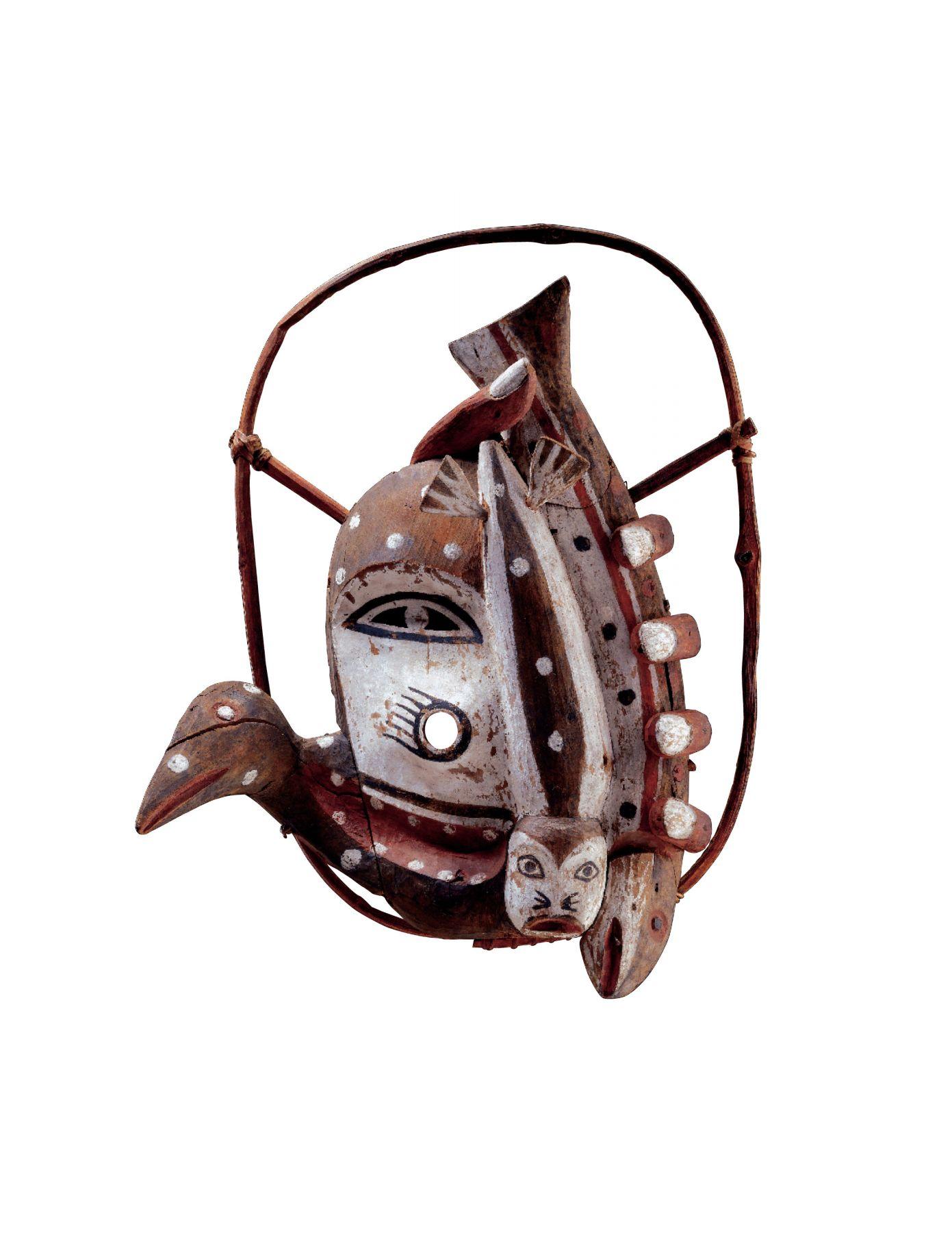 Yup'ik, Dance Mask, circa 1890-1910