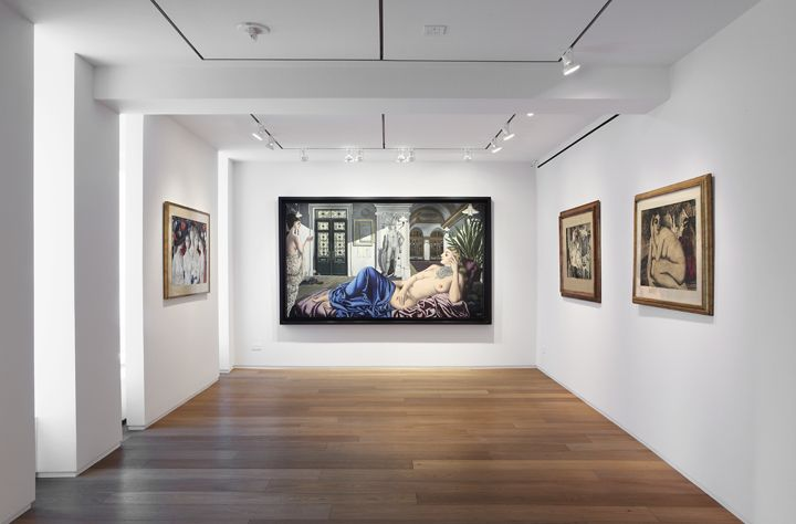Paul Delvaux, Installation View