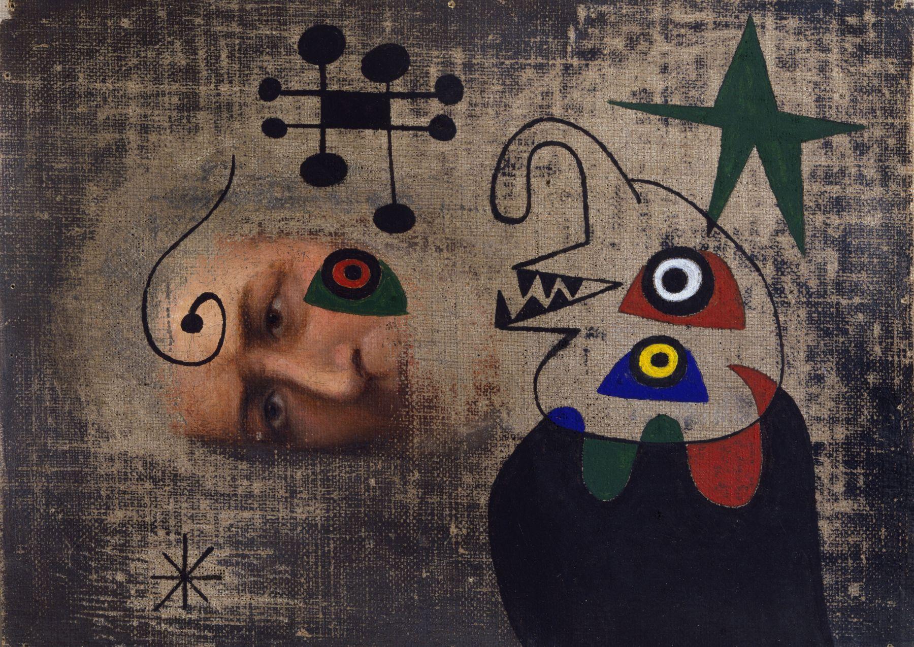 Joan Miró Personnage dans la nuit, 1944