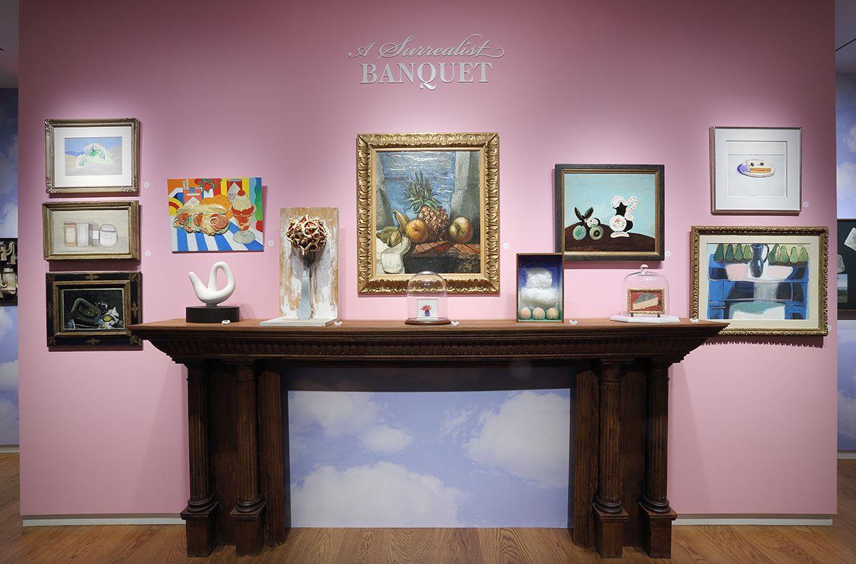A Surrealist Banquet, Installation View