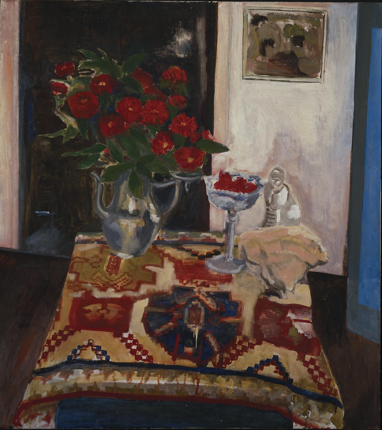 Still Life, Persian Carpet