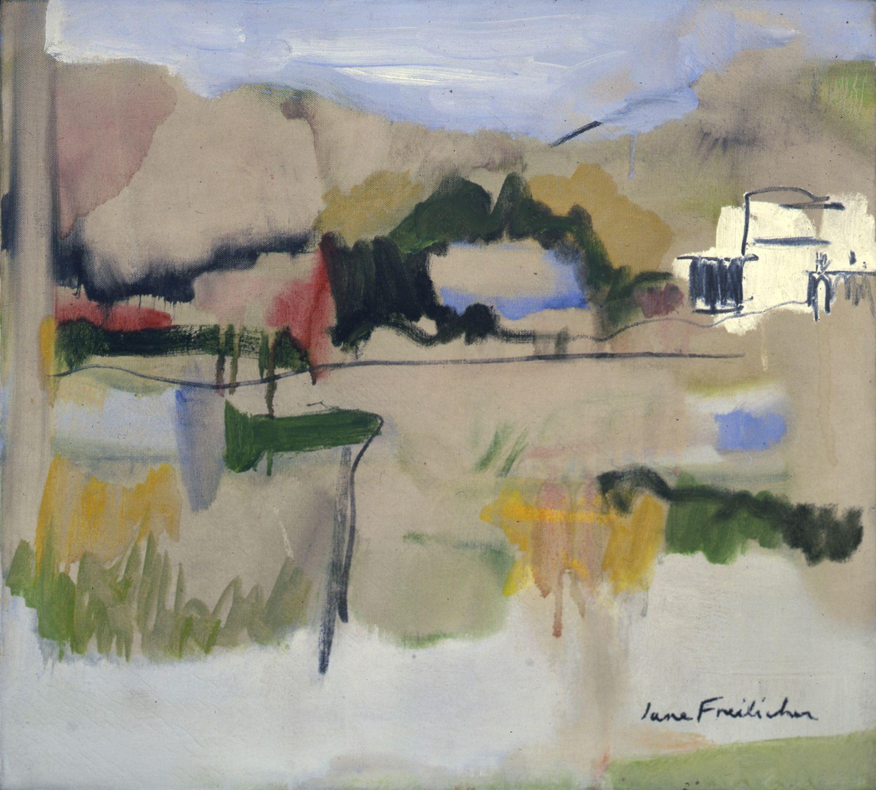 Landscape in Water Mill