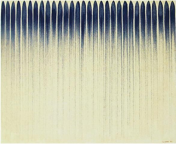 Lee Ufan From Line No. 12-12 (1982)