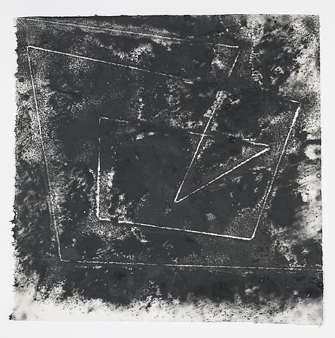 Jack Whitten, Target (In & Out) #3 (2011)