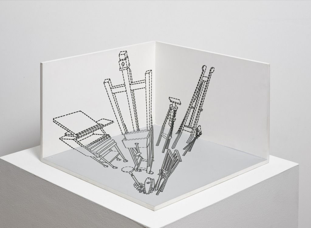 Maquete for Desaparência (Estúdio),1999