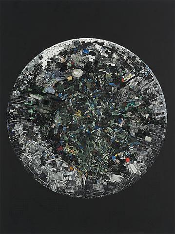 Jack Whitten Black Monolith V Full Circle: For LeRoi Jones AKA Amiri Baraka (2014)
