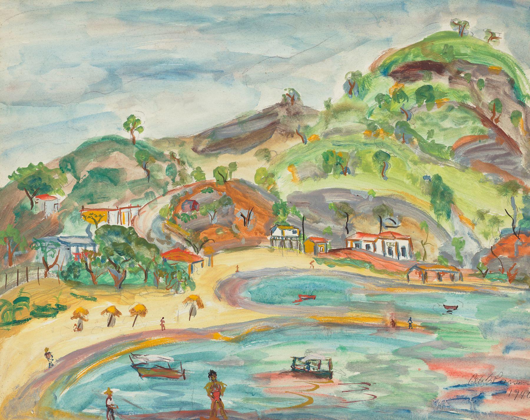 Celeste Beach, Acapulco Mexico (1940)