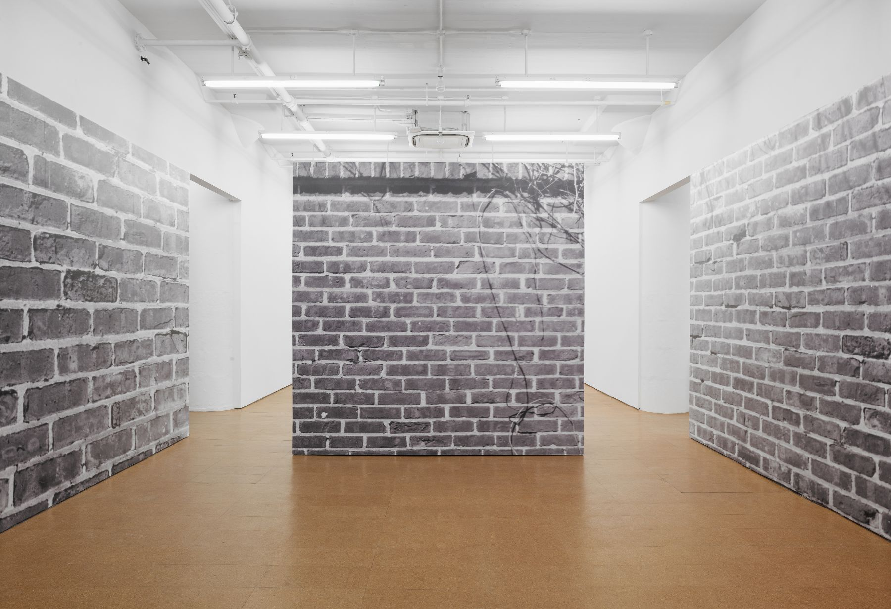 Bricks, 1974/2012Digital photo mural, Dimensions variable, Edition of 3 with 1 APInstallation view, Alexander Gray Associates, 2012