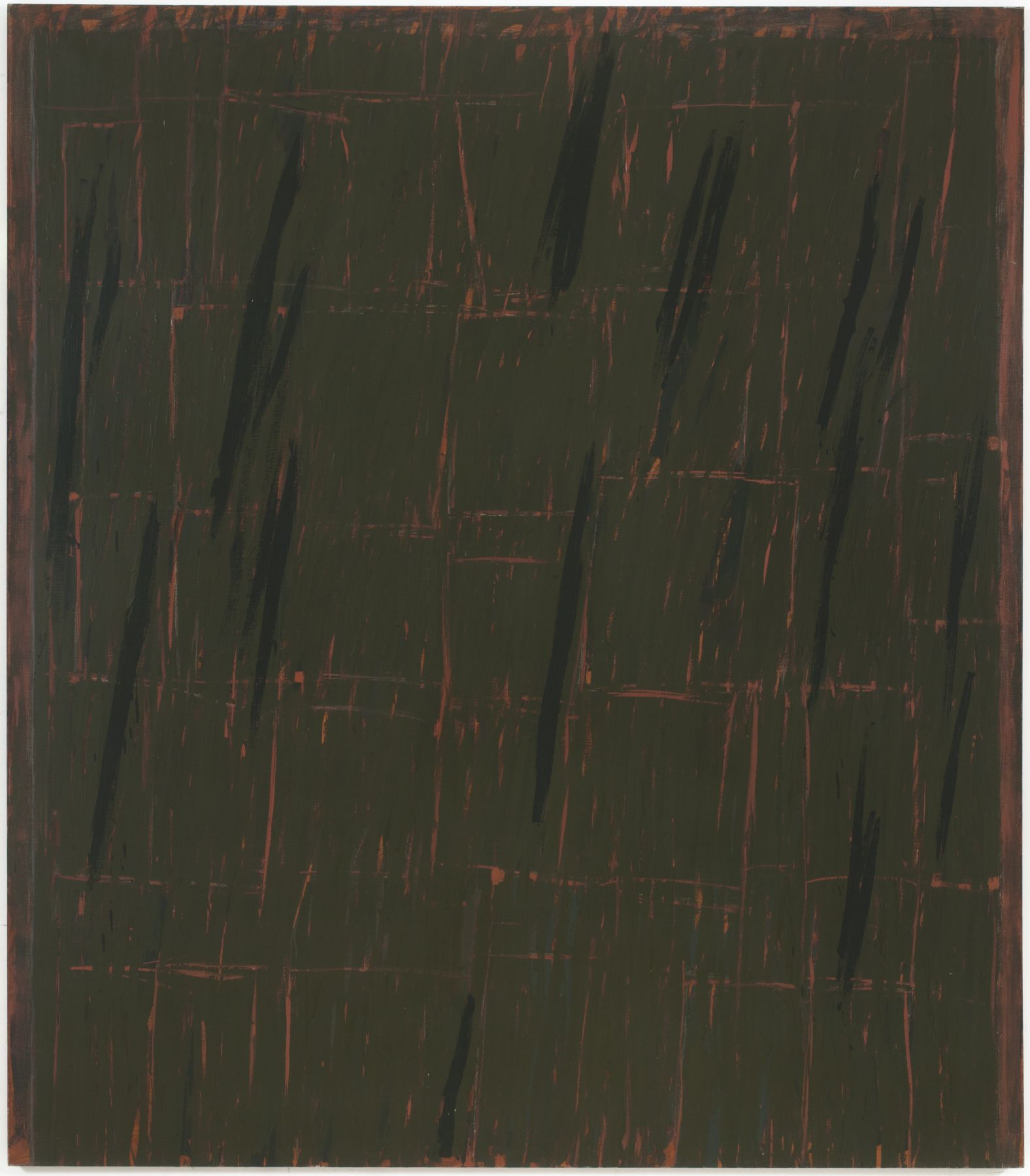 WS #2, 1968, Oil on canvas
