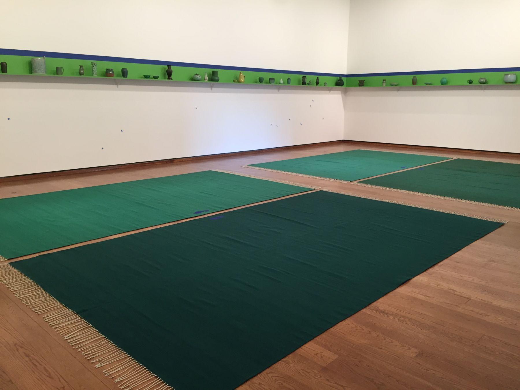 Evergreen (2015) Installation view