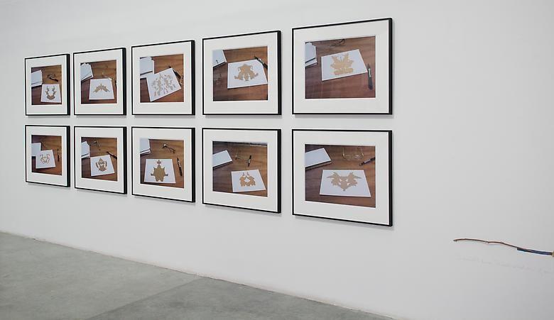 Luis Camnitzer, Rorschach Series 1-10, installation view, Satellite, Dubai (2013)