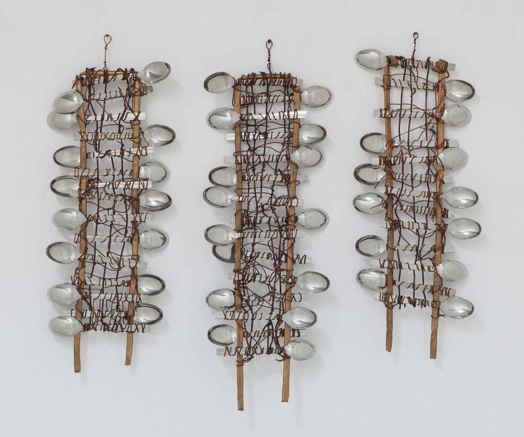 Spoons No. 3, 2012, Spoons And Copper