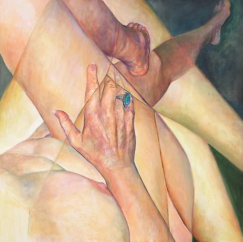 Joan Semmel, Crossed Legs (2011)