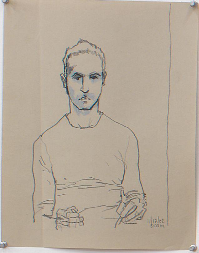 Untitled, 1992, Graphite on Vellum