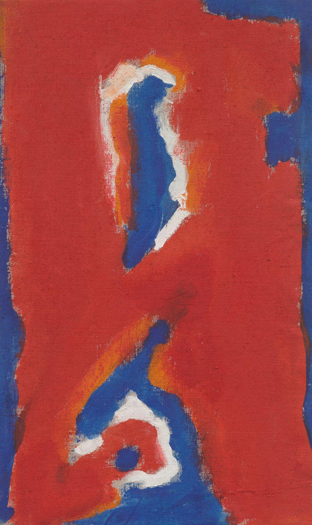 Red Sea, 1963, Acrylic on linen