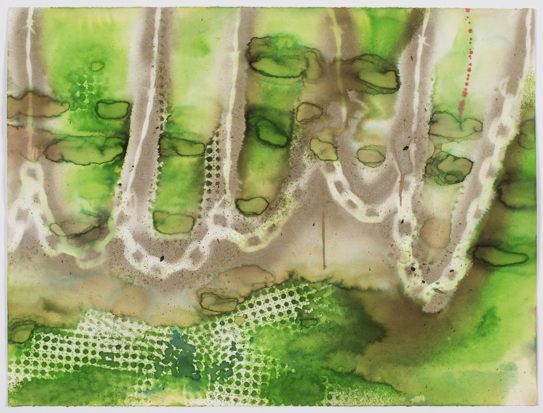 Untitled, c. 1974, Watercolor and ink on paper
