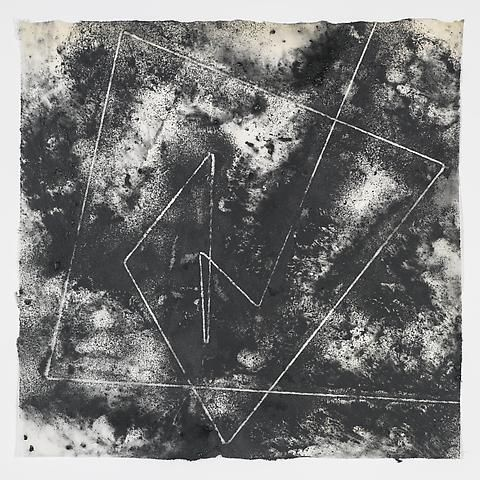 Jack Whitten, Target (In & Out) #4 (2011)