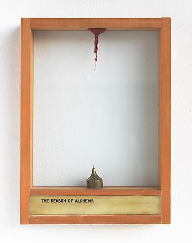 Luis Camnitzer The Reason of Alchemy (1973-1976); Mixed media