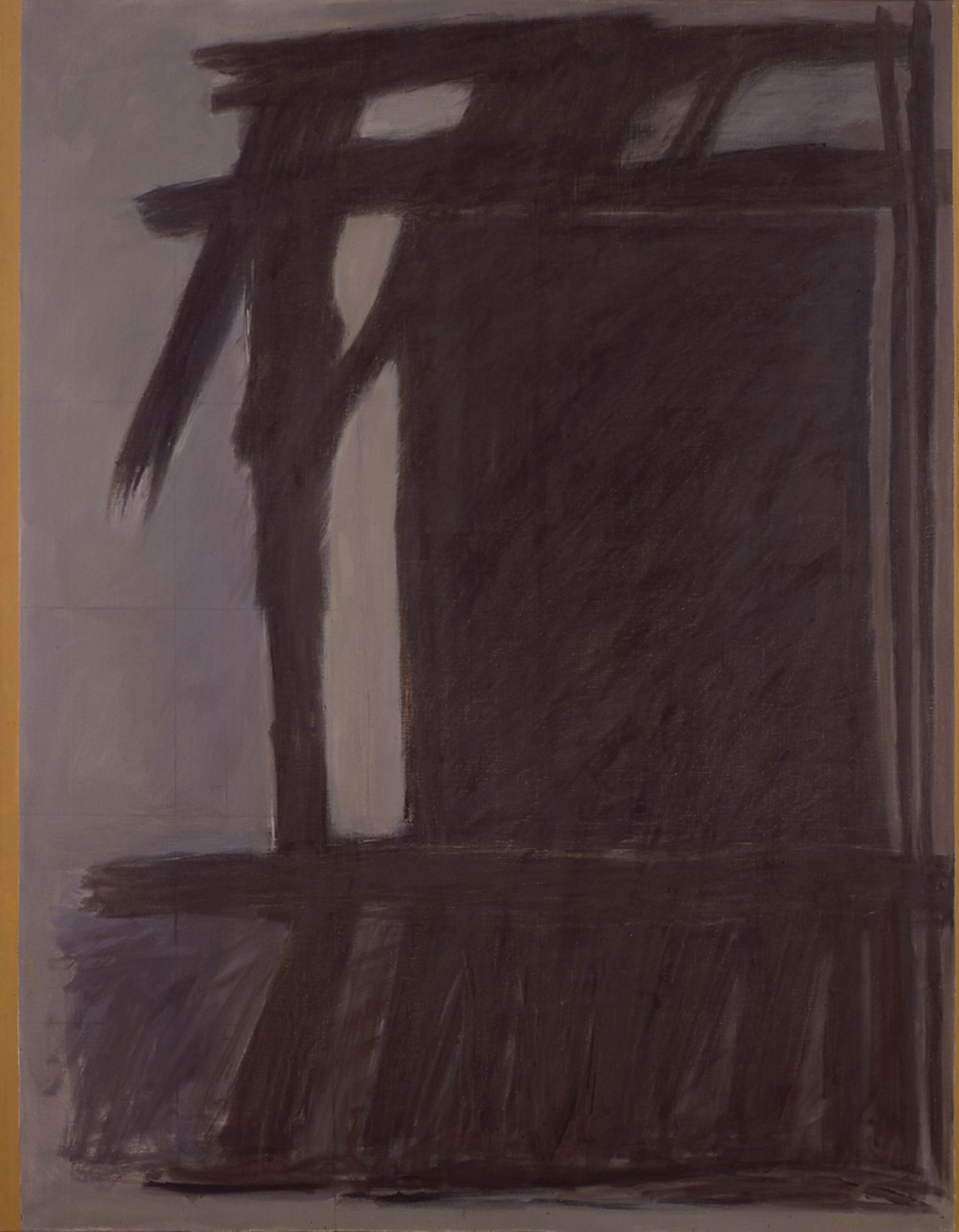 Site, 1966, Oil on canvas